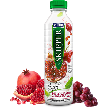 Pomegranate and red grape