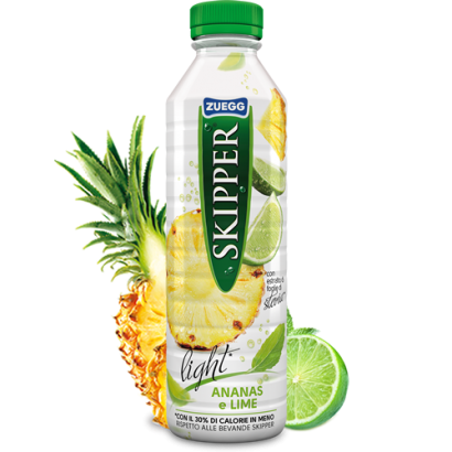 Pineapple and lime